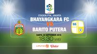 Bhayangkara vs PS Barito putera