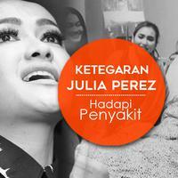 Perjuangan Julia Perez menghadapi penyakitnya (Desain: Muhammad Iqbal Nurfajri)