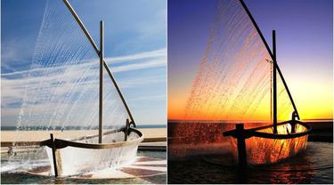 Bikin Takjub, 10 Arsitektur Air Mancur Keren di Seluruh Dunia