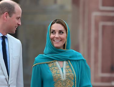 Kate Middleton Kunjungi Masjid Pakistan