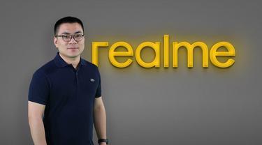 Marketing Director Realme Indonesia Palson Yi