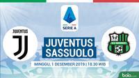 Serie A - Juventus Vs Sassuolo (Bola.com/Adreanus Titus)