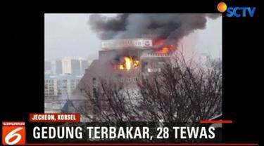 Korban kemungkinan bertambah ketika api sudah dipadamkan dan tim SAR mulai menyisir gedung yang terbakar.