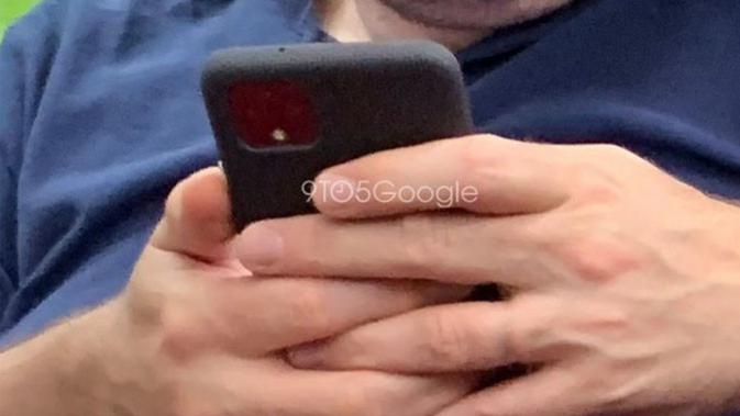 Inikah foto smartphone terbaru milik Google, Pixel 4, yang kedapatan di dunia nyata? (Doc: 9to5Google)
