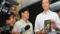 Jokowi Mendatangi PBNU. (Herman Zakharia/Liputan6.com)