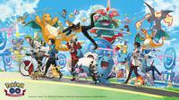 Pokemon Go Rayakan Ultah yang ke-1 dengan Event Menarik. (Doc: Pokemon Go)