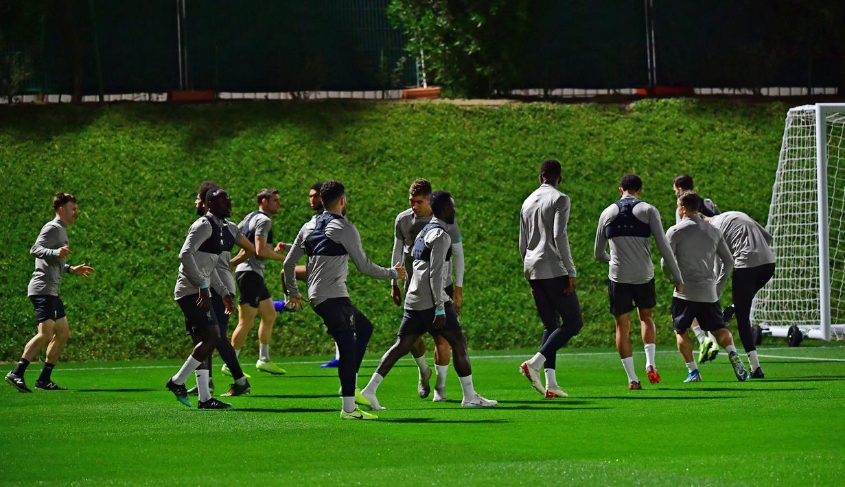 FOTO Liverpool Bersiap Hadapi Monterrey Di Semifinal Piala