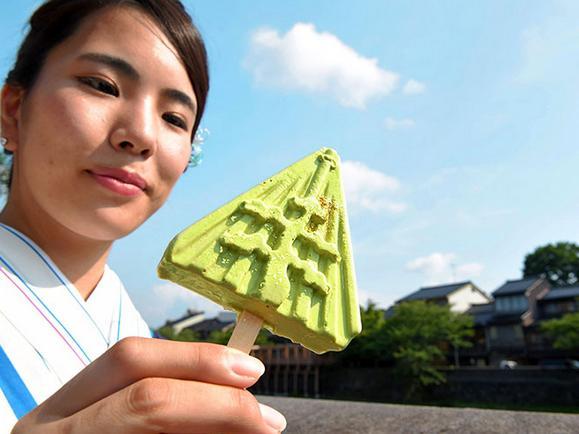 Es krimnya nggak gampang leleh./Copyright asahi.com