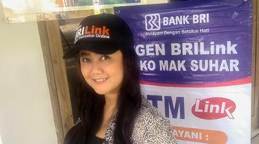 Febi Handini, Agen BRILink di Pakintelan Gunungpati, Semarang. Foto: Dok Pribadi