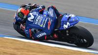 Maverick Vinales menyebut tes di Sirkuit Buriram menjadi yang terburuk sepanjang kariernya di Yamaha. (MotoGP)