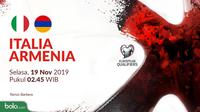 Kualifikasi Piala Eropa 2020 - Italia Vs Armenia (Bola.com/Adreanus Titus)