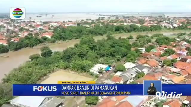 Fokus kali ini mengangkat beberapa berita di antaranya, Guru Naik Rakit Batang Pisang, Warga Mengungsi Di Kolong Jembatan, Perbaikan Jalan Tol Cipali.