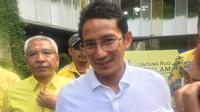 Wakil Gubernur DKI Sandiaga Uno. (Liputan6.com/Fachrur Rozie)