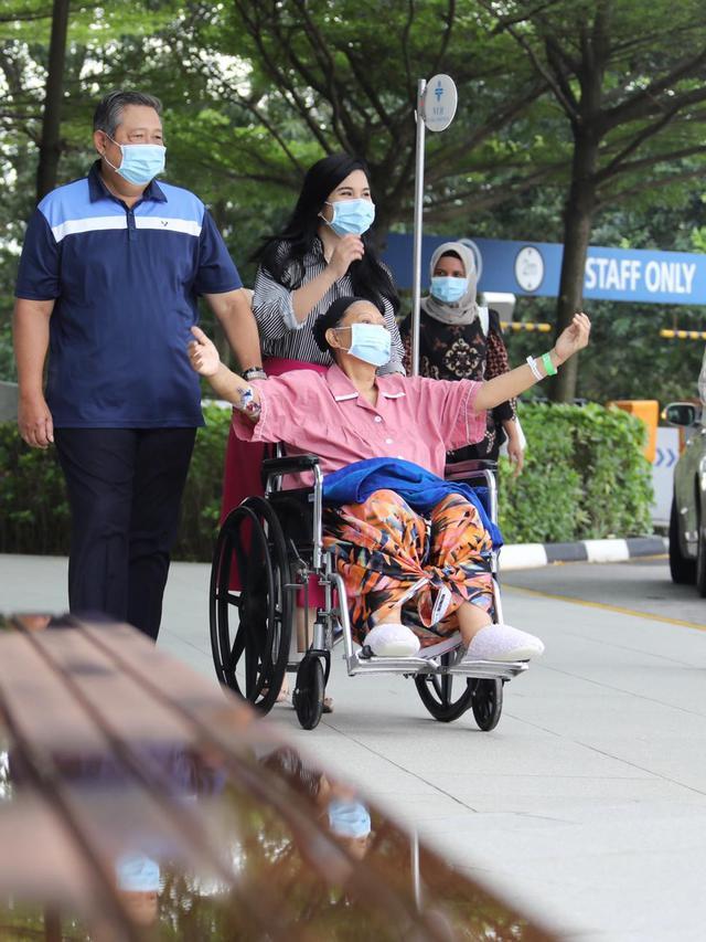 Inilah Keinginan Ani Yudhoyono Jika Sembuh dari Kanker Darah