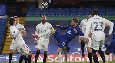 FOTO: All English Final Tercipta usai Chelsea Singkirkan Real Madrid - Timo Werner