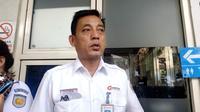 Direktur Utama PT KAI Commuter Jabodetabek (KCJ), Muhammad Nurul Fadhila di Stasiun Tebet, Jakarta Selatan. Foto: Feny Sasmitha.