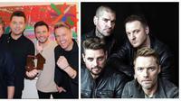 Boyzone - Westlife (Foto: Instagram)