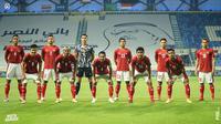 Kedudukan imbang 2-2 ini tak berubah hingga peluit panjang akhir pertandingan berbunyi. Skor imbang ini membawa Indonesia memperoleh angka pertamanya di Grup pada ajang Kualifikasi Piala Dunia 2022. Selanjutnya Timnas Garuda akan berhadapan melawan Vietnam, Senin (7/6/2021). (Foto: Dok. PSSI)