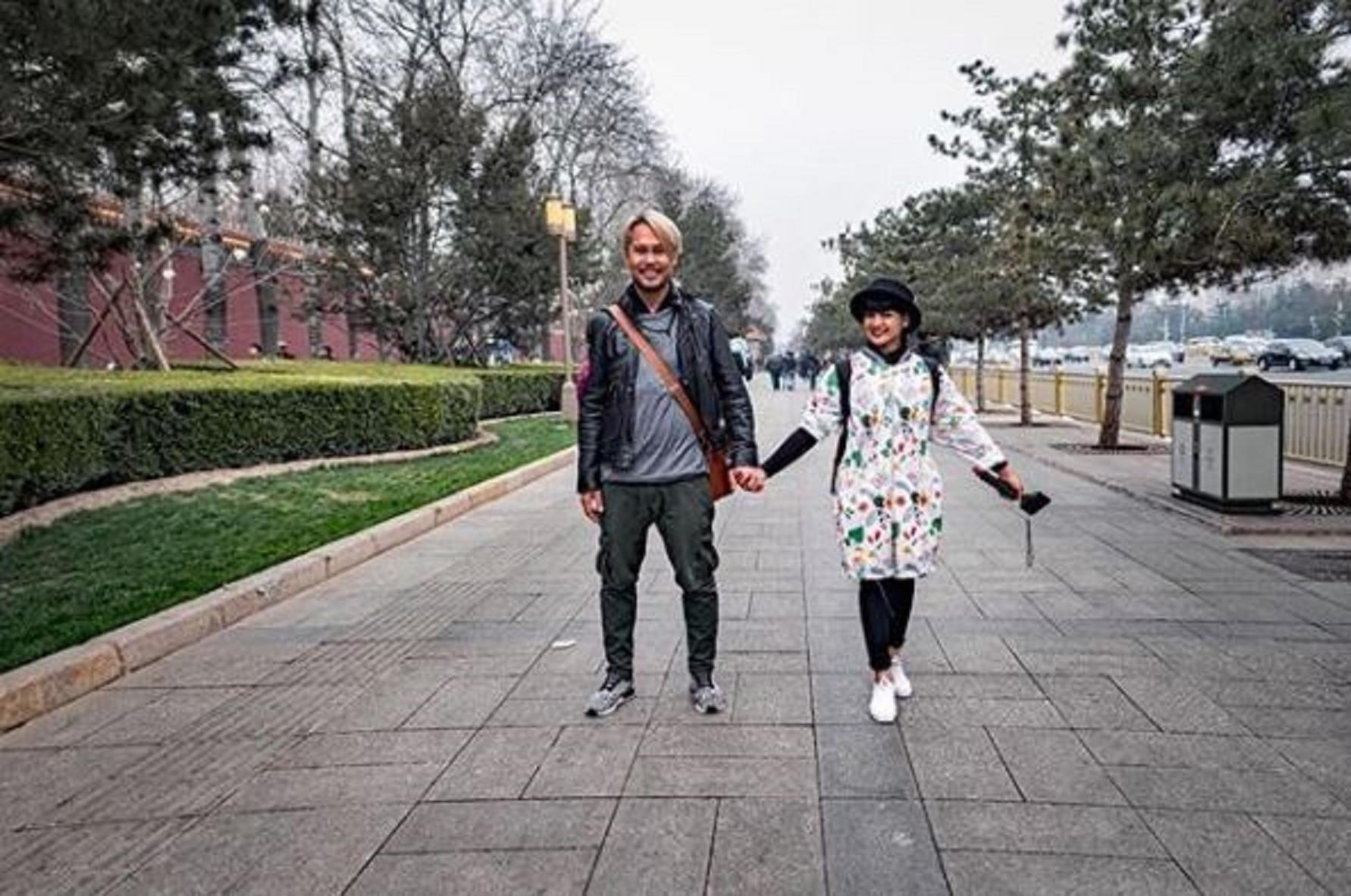 Nirina Zubir dan Ernest Fardiyan Syarif (Instagram/@nirinazubir)