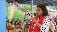 Menteri Kelautan dan Perikanan Susi Pudjiastuti (Foto: Dok Kementerian Kelautan dan Perikanan)