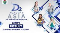 Curi Perhatian, Malaysia Pimpin Poin Sementara Top 24 Group A di D`Academy Asia 2