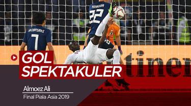 Berita video gol fantastis yang dicetak oleh striker Qatar, Almoez Ali pada final saat menghadapi Jepang di Final Piala Asia 2019.