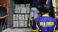 Kantor Wilayah (Kanwil) Bea Cukai Jateng DIY kembali gagalkan upaya peredaran rokok ilegal yang tidak dilekati pita cukai sebanyak 704 ribu batang. (Foto:Dok Bea Cukai)