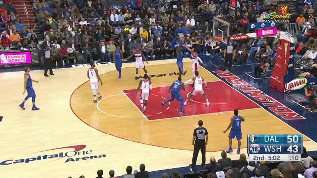Dallas Mavericks mengalahkan Washington Wizards dengan skor 113-99 dalam lanjutan pertandingan NBA 2017-2018.