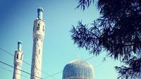 Masjid St. Petersburg yang memesona dengan arsitektur dan warna birunya (Dok.Instagram/@usamamabrouck/https://www.instagram.com/p/BxvxUV8hVp-/Komarudin)