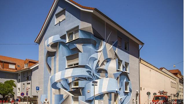 6 Lukisan Dinding 3d Di Bangunan Ini Keren Sekaligus Bikin Bingung Lihatnya Hot Liputan6 Com