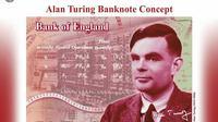 Alan Turing, ilmuwan yang dikebiri kimia. (AP)