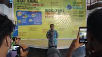 Juru Bicara Gugus Tugas Penanganan Covid-19 Andi M Ishak.
